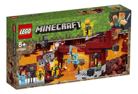LEGO Minecraft 21154 De Blaze brug-Linkerzijde