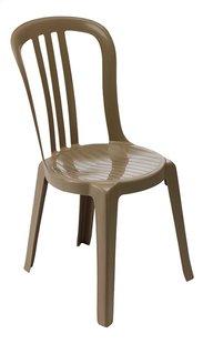 Grosfillex chaise de jardin Bistro Miami beige-Côté gauche