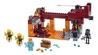 LEGO Minecraft 21154 De Blaze brug-Vooraanzicht