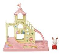 Sylvanian Families 5319 - Le château et Crème, bébé Lapin Chocolat-commercieel beeld
