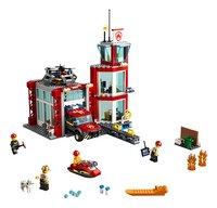 LEGO City 60215 Brandweerkazerne-Vooraanzicht