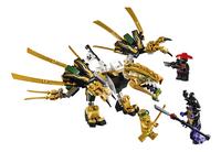 LEGO Ninjago 70666 De Gouden Draak-Vooraanzicht