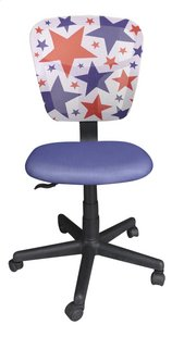 Kinderbureaustoel Stars blauw
