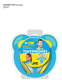 JVC casque Tinyphones HA-KD7-Y jaune