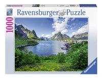 Ravensburger puzzel Op de Lofoten-Vooraanzicht