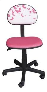 Kinderbureaustoel Vlinder roze
