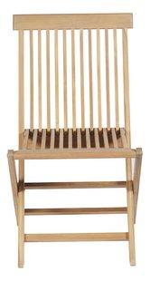 Chaise de jardin acacia