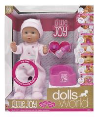 Dolls World interactieve pop Little Joy roze-Vooraanzicht