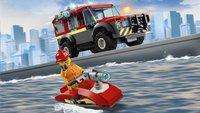 LEGO City 60215 La caserne de pompiers-Image 2