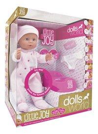 Dolls World interactieve pop Little Joy roze-Linkerzijde