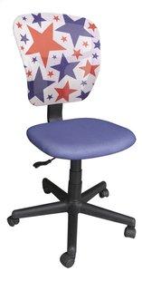 Chaise de bureau pour enfants Stars bleu-Côté gauche
