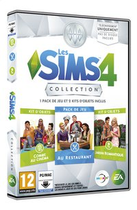 PC Les Sims 4 Collection FR-Linkerzijde