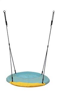 Nestschommel Winkoh turquoise/geel-Vooraanzicht
