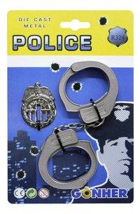 DreamLand verkleedpak politieman met helm en badge maat 110-Artikeldetail