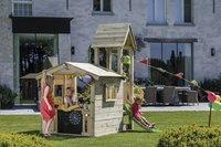 Blue Rabbit houten speelhuisje met toren Lookout 60-Afbeelding 1