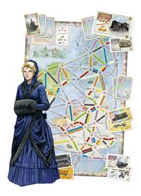 Ticket To Ride uitbreiding: United Kingdom en Pennsylvania-Artikeldetail