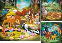 Ravensburger puzzle 3 en 1 Bambi, Baloo et Simba-Avant