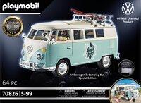 PLAYMOBIL VW 70826 Volkswagen T1 Campingbus - Special Edition-Vooraanzicht