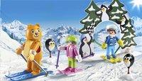 PLAYMOBIL Family Fun 9282 Moniteur de ski avec enfants-Image 1