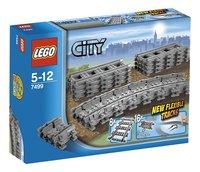 LEGO City 7499 Flexibele rails-Vooraanzicht
