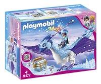 PLAYMOBIL Magic 9472 Gardienne et Phénix royal-Côté gauche