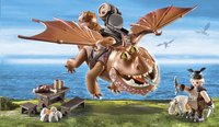 PLAYMOBIL Dragons 9460 Varek et Bouledogre-Image 1