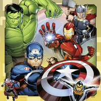 Ravensburger puzzel 3-in-1 The Avengers-Vooraanzicht