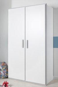 Garde-robe 2 portes Babel blanc-Image 1