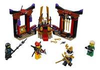 LEGO Ninjago 70651 Troonzaalduel-Vooraanzicht