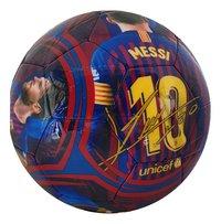Ballon de football FC Barcelona Lionel Messi taille 5-Arrière
