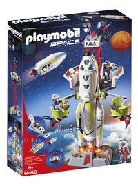 PLAYMOBIL Space 9488 Fusée Mars avec plateforme de lancement-Côté gauche
