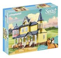PLAYMOBIL Spirit 9475 Maison de Lucky-Côté gauche