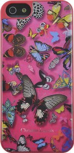 Backcover voor iPhone 6 Butterfly Christian Lacroix roze