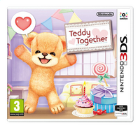 Nintendo 3DS Teddy together NL