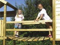 BnB Wood hangbrug voor Diest/Tildonk