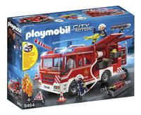 PLAYMOBIL City Action 9464 Brandweer pompwagen-Linkerzijde