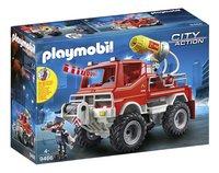 PLAYMOBIL City Action 9466 Terreinwagen met waterkanon-Linkerzijde