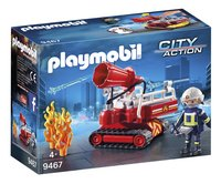 PLAYMOBIL City Action 9467 Pompier avec robot d'intervention-Côté gauche