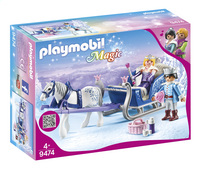 PLAYMOBIL Magic 9474 Couple royal et calèche-Côté gauche