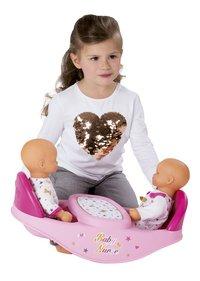 Smoby 2-in-1 duokinderstoel voor poppen Baby Nurse-Afbeelding 2
