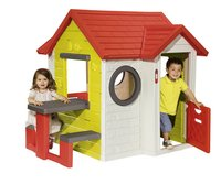 Smoby speelhuisje My house met picknickmodule-commercieel beeld