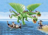 PLAYMOBIL Dragons 9458 Kognedur et Kranedur avec Pète et Prout-Image 1