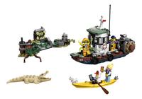 LEGO Hidden Side 70419 Schipbreuk met garnalenboot-Vooraanzicht