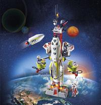 PLAYMOBIL Space 9488 Fusée Mars avec plateforme de lancement-Image 1