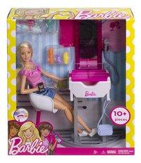 Barbie Salon de coiffure-Avant