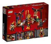 LEGO Ninjago 70651 Troonzaalduel-Achteraanzicht