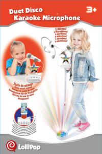 Micro sur pied Duet disco karaoke-Image 4