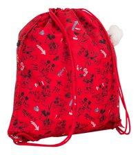Kipling sac de gymnastique Supertaboo Mickey Sketch Red-Arrière