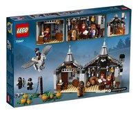 LEGO Harry Potter 75947 Hagrids huisje: Scheurbeks ontsnapping-Achteraanzicht