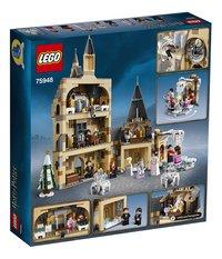 LEGO Harry Potter 75948 Zweinstein Klokkentoren-Achteraanzicht